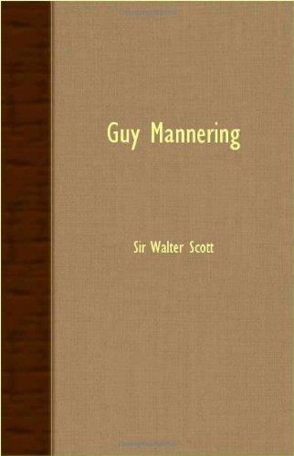 Book cover for Guy Mannering