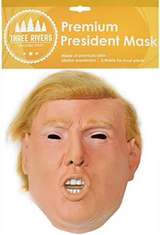 Donald Trump Celebrity Latex Mask Ideal for Parties Halloween