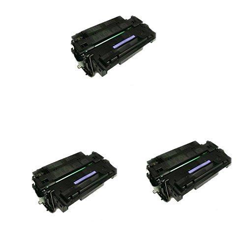 Compatible 05A CE505A, AI505A Black Toner Cartridge For HP LaserJet P2035, P2055-3Pack