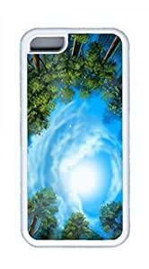 Wooden Villa Design Case for ipod touch 4 touch 4 TPU White by Cases & Mousepads