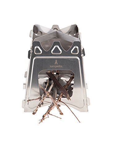 WoodFlame-Ultra-Lightweight-Portable-Wood-Burning-Camping-Stove-Backpacking-Stove-Stainless-Steel-with-Nylon-Carry-Case-Perfect-for-Survival-Packs-Emergency-Preparedness-by-kampMATE