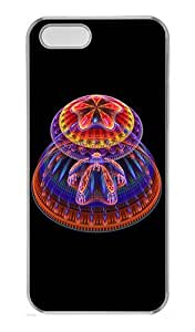 IMARTCASE iPhone 5S Case, Trippy Mushrooms PC Hard Case Cover for Apple iPhone 5S Transparent by lolosakes by lolosakes