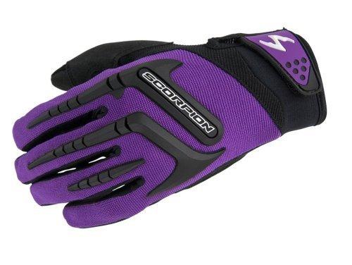 ScorpionExo Women's Skrub Gloves(Purple, X-Small), 1 Pack