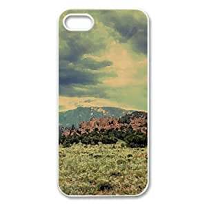 Nature Landscape 7 Watercolor style Cover iPhone 5 and 5S Case (Landscape Watercolor style Cover iPhone 5 and 5S Case)