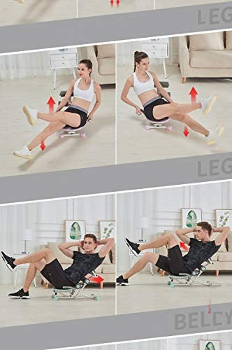 Rocket Exerciser Twister Trainer Incline Foldable Ab Workout Equipment