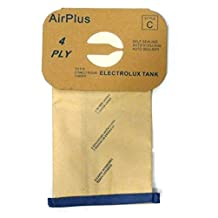 Generic Vacuum Bags for Electrolux Canister - Style C - Generic (Bag of 12)