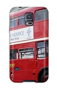 DavidMBernard Case Cover Protector Specially Made For Galaxy S5 Routemaster Double Decker Bus