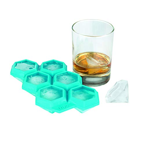 TrueZoo Iced Out Diamond Silicone Mold and Ice Cube Tray ()