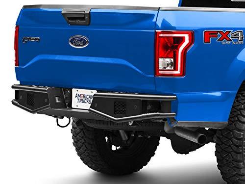 - RedRock 4x4 Tubular Off-Road Rear Bumper - for Ford F-150 (Excluding Raptor) 2015-2019