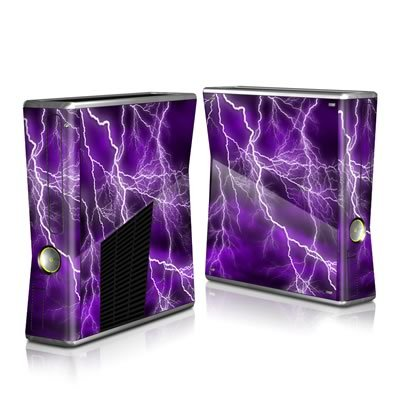 Apocalypse Violet Design Protector Skin Decal Sticker for Xbox 360 S Game Console Full Body