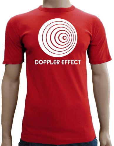 The Big Bang Theory – Doppler effect Slimfit T-Shirt S-XXL div colores Rouge - rouge