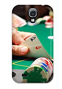 9128092K40501116 New Style Hard Case Cover For Galaxy S4- Poker