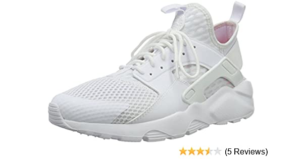 separation shoes 0d18e 89eab Amazon.com   NIKE Mens Air Huarache Run Ultra BR White Fabric Size 8.5    Shoes