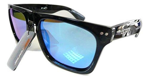à soleil étui Homme tint polarisées de Blue Black lunettes wTnOOUX