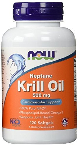NOW Foods Neptune Krill Oil 500 mg Softgels - 120 ct - 3 pk