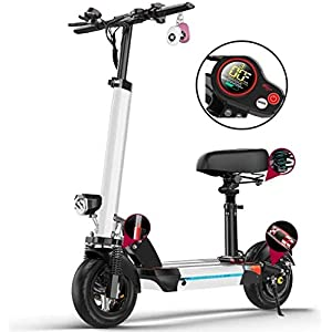 41ku9EjGDjL. SS300 Monopattino Elettrico Scooter Pieghevole per Adulti, Display LCD,10 inch, Motore da 500 W, Display LCD E-Roller…