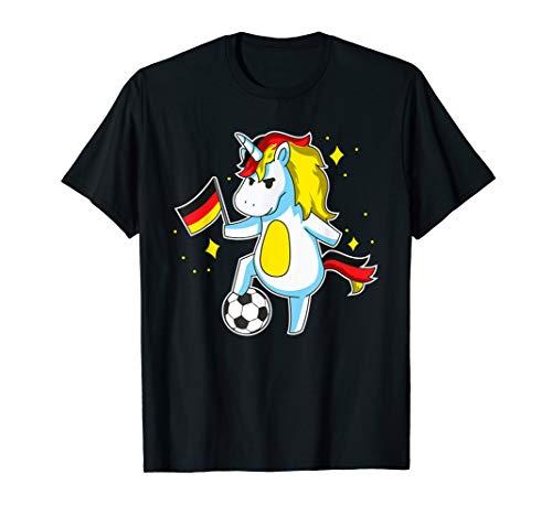Soccer Unicorn German Jersey Shirt Germany Football Gift