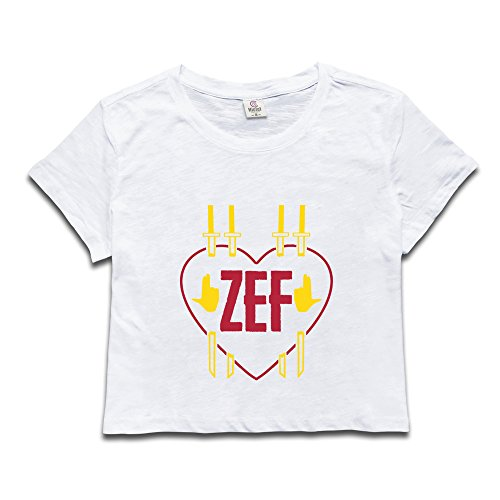Girls Zef Heart Dew Navel Tops (Yo Gotti Best Friend)