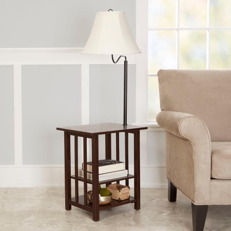 Better Homes and Gardens End Table Floor Lamp ()