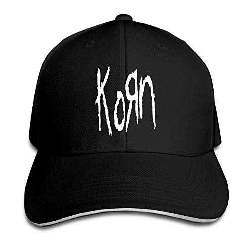 Corrine-S Korn Outdoor Travelling Cotton Caps Hats Adjustable Black ()