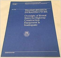 Transportation infrastructure oversight of rental rates for