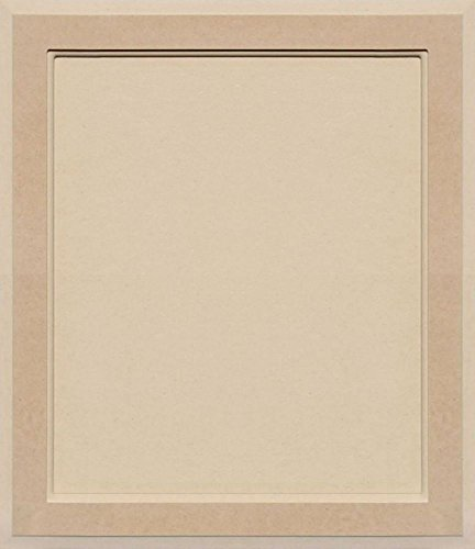 Unfinished MDF Square Flat Panel Cabinet Door by Kendor, 22H x 19W ()