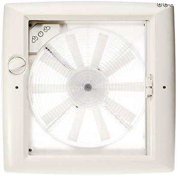 Thule claraboya Transparente con Ventilador 12 V: Amazon.es: Coche ...