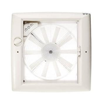Thule claraboya Transparente con Ventilador 12 V: Amazon.es: Coche y moto