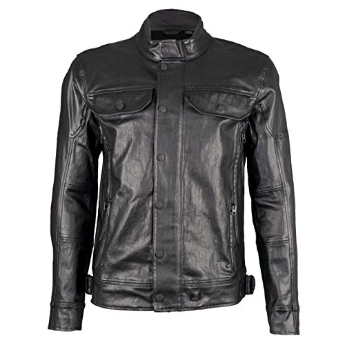 Twill Coated Jacket - Harley-Daivdson Men's Coated Denim Slim Fit Riding Jacket 98117-16VM (2XL)
