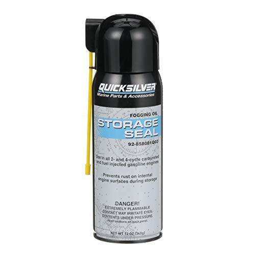 Quicksilver 858081Q03 Storage Seal Engine Fogging Oil - 12oz Spray Can
