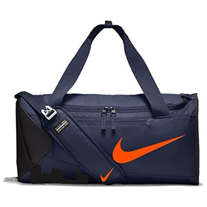 89c807b21d Nike Alpha Polyester Thunder Blue black hyper Crimson Adapt Cross Body Duffel  Bag (Medium)  Amazon.in  Bags