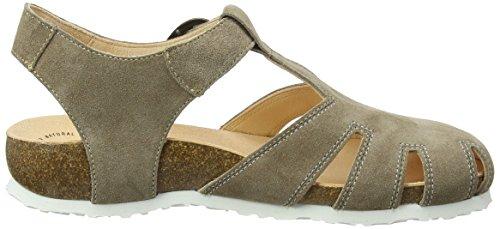 Think Julia_282343, Sandalias de Gladiador Para Mujer Beige (Macchiato/kombi 25)