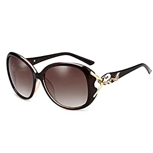 ZHIRONG Gafas de sol de las nuevas mujeres populares de la polarización popular protección del 100% UV400 ( Color : 04 )