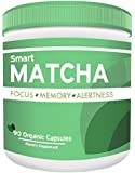 NEW SmartMatcha - Powerful nootropic with organic matcha powder. Powerful brain booster nootropic stack for energy, focus, and memory.
