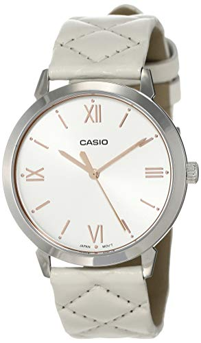Casio Enticer Lady #39;s Analog Silver Dial Women #39;s Watch LTP E153L 7ADF  A1485