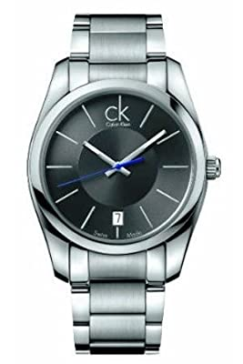 Calvin Klein Strive K0K21107 40 Silver Steel Bracelet & Case Men's Quartz Watch