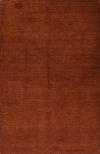 Bashian contempt collection ALM184 hand loomed 100% wool area rug, 5' x 7.6', (Geo Wool Area Rugs)