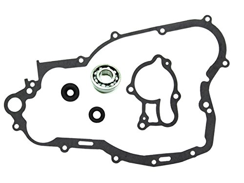 (Outlaw Racing OR2836 Complete Water Pump Rebuild Repair Kit w/Bearing Shaft Gasket Seal YAMAHA YZ250 1999-2017 YZ250X 2016-2017)
