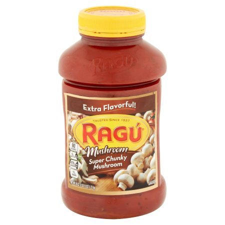 pack of 9 - Ragú Super Chunky Mushroom Pasta Sauce 45 oz. by Ragú (Image #3)