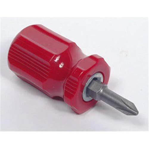 BeautyBlade 26061 Stubby 2 in 1 Reversible Screwdriver - Pack of 24 from BeautyBlade