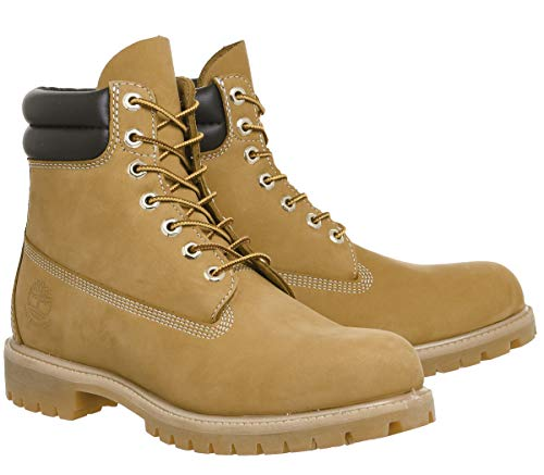 Collar Classic Double Timberland Uomo 6 6 Boot in Stivaletti Wheat in ETqAqwY