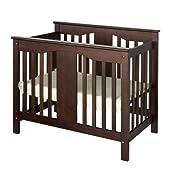 DaVinci Annabelle 2-in-1 Mini Crib and Twin Bed, Espresso