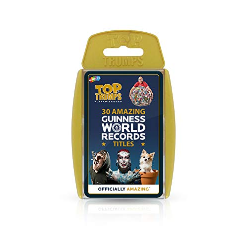 (Top Trumps Top 30 Guinness Records)