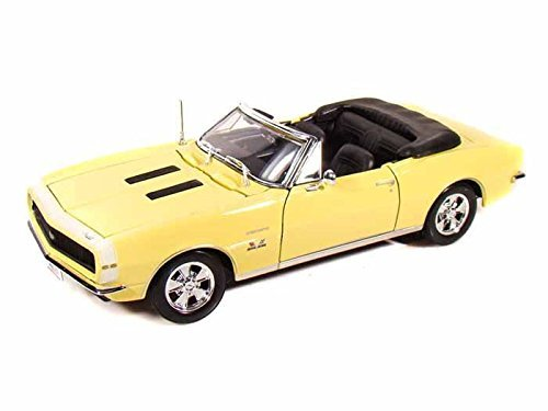 1967 Chevy Camaro SS 396 Convertible 1/18 Yellow