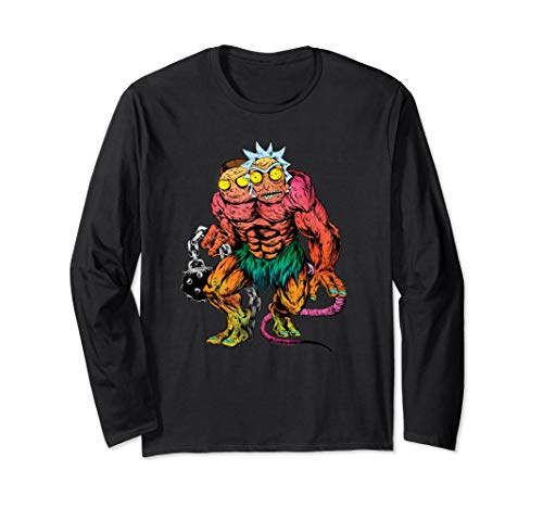 (Rick and Morty Two Headed Monster Long Sleeve Shirt)