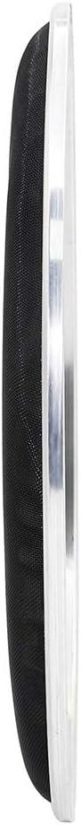 Nero EXCEART Testina Tamburo Nylon Tamburo Pelle Sostituzione Tamburo Coperchio per Accessorio Sostituzione Tamburo Africano 10 Pollici