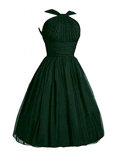 Leader of the Beauty - Vestido - para mujer verde verde oscuro 46