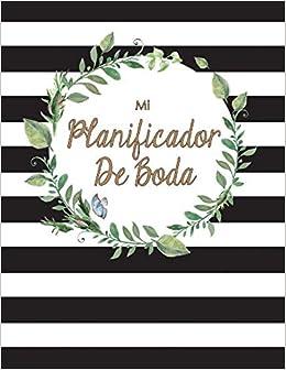 Mi Planificador De Boda: Un Organizador de Bodas, Lineas ...