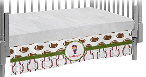 Sports Crib Skirt (Personalized) by RNK Shops