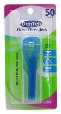 DenTek Floss Threaders | 50-Count per pack | 3-Pack